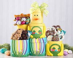 Children easter fun gift baskets for boys at gift baskets etc rocky mountain godiva and more easter tower at gift baskets etc negle Choice Image