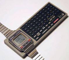 Seiko watch keyboard UC-2100 KEYBOARD (UK01-0020) 1984