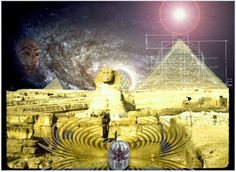 The very shape of the pyramid is an amplified-receiver or resonator of various kinds of energy fields, i.e. electro-magnetic waves, cosmic rays, electrical discharges, gravitational waves, etc., surrounding our planet and which are in the air around and within the pyramid. Inside the pyramid the received energies, interact with one another.