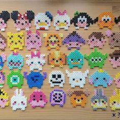 kaisora0_0 Posts On Instagram | Vibbi Perler Bead Templates, Pearler Bead Patterns, Diy Perler Beads, Perler Bead Art, Perler Patterns, Pearler Beads, Fuse Beads, Hamma Beads Ideas, Pearl Beads Pattern