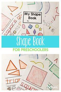 FREE My Shape Book