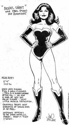 Marvel Comics of the 1980s: 1990 - John Byrne's Sersi