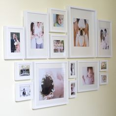 New Kitchen Wall Collage Ideas Photo Layouts Ideas Kitchen Gallery Wall, Gallery Wall Layout, Gallery Wall Frames, Frames On Wall, Framed Wall Art, Ikea Gallery Wall, White Frames, Gallery Walls, Collage Mural