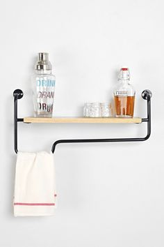 If the sink/vanity has no storage. 4040 Locust Industrial Wall Shelf. Urban outfitters