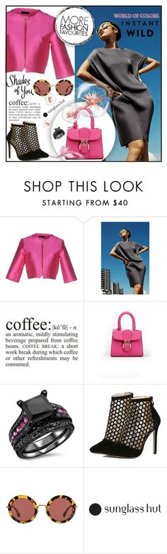"""""""Shades of You: Sunglass Hut Contest Entry"""" by jecakns ❤ liked on Polyvore featuring Malaica, Miu Miu and modern"""