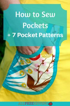 How to Sew Pockets + 7 Pocket Patterns