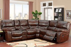 ML6059 Riley Reclining Sectional by Porter Intl Designs #porterintl