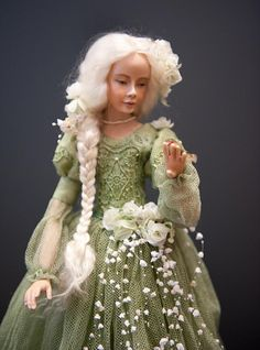 From an amazing doll exposition in Moscow. Incredible work!