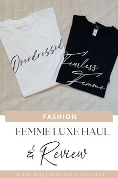 I was contacted by Femme Luxe for a collaborative post where I'd showcase some of their pieces I thought you guys might be interested in.