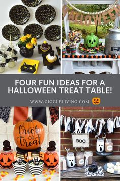 Halloween treat tabl