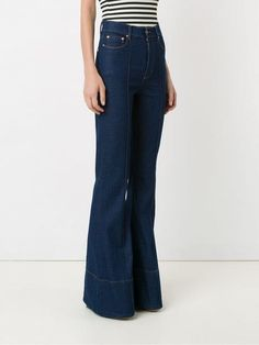 Flare Jeans, Bell Bottom Jeans, Women Wear, Cotton, Pants, Shopping, Style, Fashion, Flare Jeans Outfit