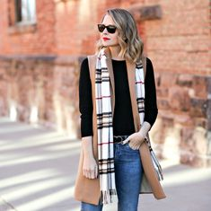 Latest Looks - Penny Pincher Fashion Nyc Fashion, Winter Fashion, Fashion Outfits, Womens Fashion, Fashion Trends, Winter Layering Outfits, Penny Pincher Fashion, Winter Pastels, Wool Vest