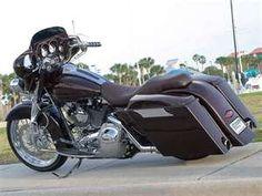 2007 Harley Davidson Street Glide Custom Back Left View Photo 3