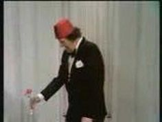 I never heard of Tommy Cooper until a few weeks ago, seems we share the same approach to humor with magic.