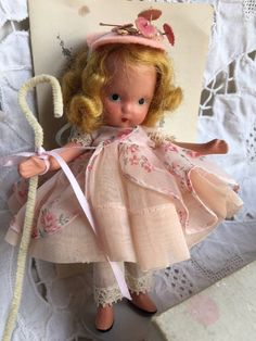 SOLD Nancy Ann Storybook Doll Little Bo PeepBox Brochure by Jewelmoon