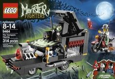 Lego Monster Fighters 9464 The Vampyre Hearse 673419167659 | eBay