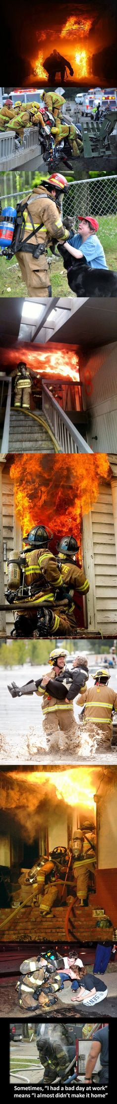 Respect to all the firemen!