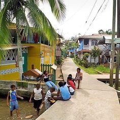 Make sure you give yourself time to explore colorful Bastimentos.  #BubbasHouse #BocasDelToro #Panama