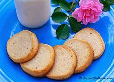 Gourmet Girl Cooks: NEW RECIPE ALERT: Shortbread Cookies (Low Carb, Sugar & Grain Free)