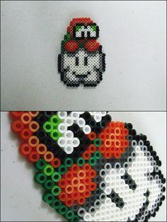 Super Mario Bros - Lakitu - bead sprite magnet