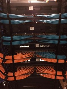 Miami Dolphins new data cable run part 1