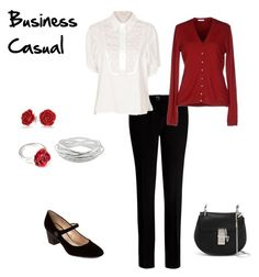 Business Casual featuring malo, See by Chloé, Ted Baker, Marc Jacobs, Chloé, LeiVanKash, John Lewis and Bling Jewelry