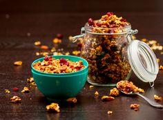 Pumpkin Pecan Granola | Vegan & Gluten Free Recipes For Baking In October