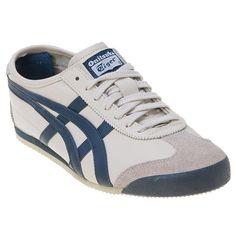 promo code bf263 41c37 Onitsuka Tiger Navy   Tan   Mexico 66 Asics Navy Shoes, Lace Up Shoes,