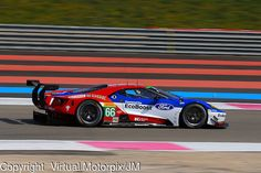 #66, Ford GT, Ford Chip Ganassi Team UK, driven by Billy Johnson, Stefan Mucke, Olivier Pla, FIA WEC Prologue Circuit Paul Ricard, 25/03/2016,