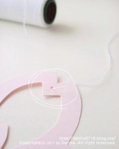 벚꽃 모빌 만들기_달리아의 봄맞이 인테리어 소품 DIY ♡ : 네이버 블로그 Paper Art, Origami, Easter, Decorating, Flower, Decor, Papercraft, Decoration, Easter Activities