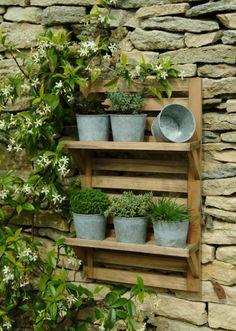 Wall Mounted Plant Rack