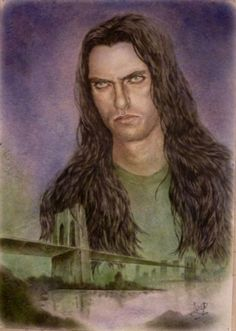 Type O Negative Peter Steele cm) by Edgar Bogoslovsky Peter Steele, Type O Negative, Artwork, Painting, Fallout, Opportunity, Meet, Amazing, Music