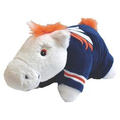 broncos pillow pet - i need this! lol