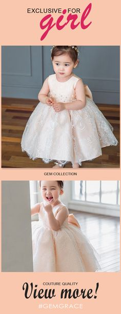 Only $68.99, Flower Girl Dresses Lovely Blush Pink Lace Poofy Flower Girl Dress Elegant For Weddings #TG7026 at #GemGrace. View more special Flower Girl Dresses now? GemGrace is a solution for those who want to buy delicate gowns with affordable prices. Free shipping, 2018 new arrivals, shop now to get $5 off!