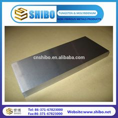 """""""hot rolled pure tungsten plate 99.95%, tungsten sheet made by famous manufacturer"""""""