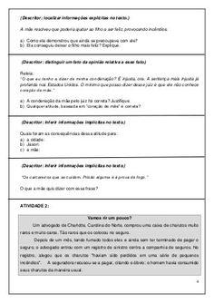 COLETÂNEA DE ATIVIDADES DO 5º ANO Professor, Education, Blue, Comprehension Activities, Writing Activities, Handwriting Books, Reading Workshop, Index Cards, Literatura