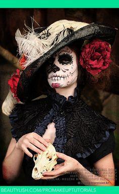 Day of the Dead 2013 | Lauren S.'s (ProMakeupTutorials) Photo | Beautylish