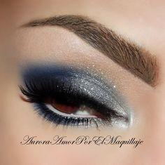 Blue night Love blue makeup!