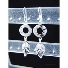 Drop Earrings, Silver, Jewelry, Jewlery, Money, Bijoux, Jewerly, Jewelery, Dangle Earrings