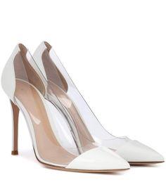 03d2f30206b GIANVITO ROSSI Plexi patent leather and transparent pumps.  gianvitorossi   shoes  pumps Patent