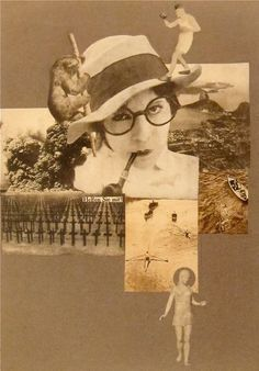 """""""Help! Liberated Woman!""""  Photo-montage, Marianne Brandt  1926"""
