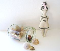 Comfort doll / cloth doll / art doll / OOAK. via Etsy.