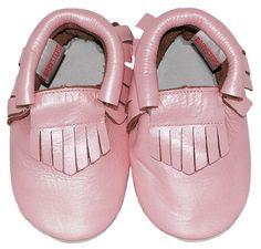 Babysteps mocassins pink ibiza style