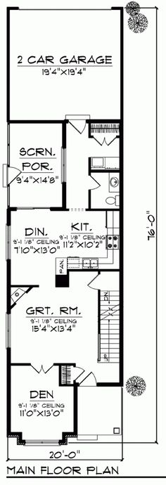 Vertical House Raises Sustainable Seattle Living To New Heights further Row House Floor Plans Chicago likewise 527343437599258085 furthermore Narrow Lot Mediterranean House Plan 42823mj additionally 212671. on urban narrow lot house plans