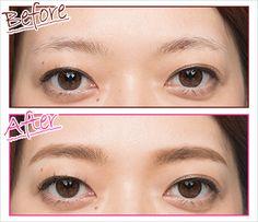 眉メイク・描き方をレクチャー! 眉が濃い薄い左右非対称でも失敗しないコツ | マキアオンライン(MAQUIA ONLINE) Japanese Eyebrows, Make Up, Hair, Beauty, Makeup, Maquiagem, Strengthen Hair