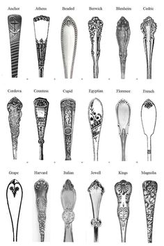 mayflower flatware pattern - Google Search