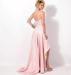 Basic sweetheart top high-lo dress pattern