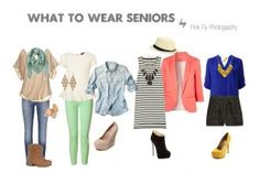 What to wear: Senior girls Senior Picture Outfits, Cool Outfits, Clothing Photography, Senior Photography, Photography Outfits, Mode Für Teenies, Senior Portraits, Senior Pictures, Teen Girl Fashion