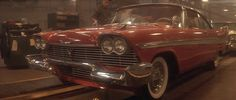 "Although the car in the film ""Christine"" is a 1958 Plymouth Fury, two other Plymouth models, the Belvedere and the Savoy, were also used. 21 Belvederes were destroyed in the making of the film."