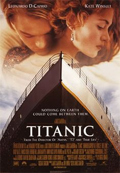 Titanic : 1997 - this might be the movie I have see the 2nd most...I went to movie theater several times to see it, then, I bought VHS (still VHS at that time) and watched the video again and again and again... I am excited that this will come in 3D in April.... must see ...